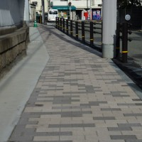 西灘浜手2号線(神戸市/グランパムH)