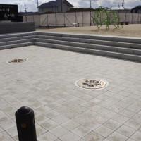 道ノ上公園(三木市/ピアジェストーン・階段ブロック)