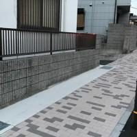 西灘浜手13号線歩道(神戸市)