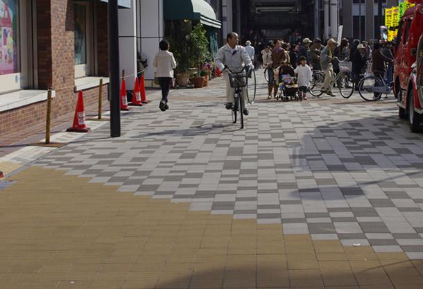 区画道路4号線(神戸市/ハートランドペイブ)