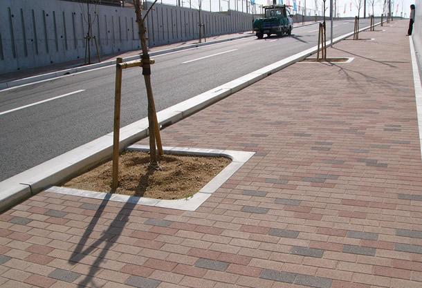 上津台宅地歩道(神戸市/グランパムH)