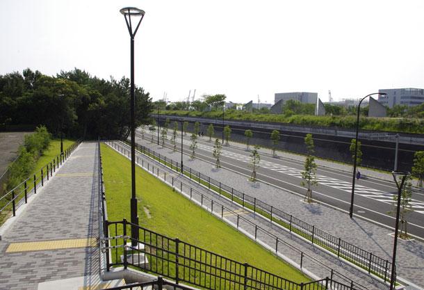 ポートアイランド南公園(神戸市/アンティークカラー)